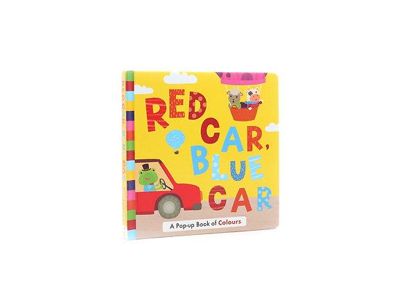 PU004 Red Car Blue Car