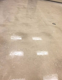 before pic, dirty floor