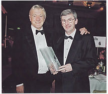 Don received an international award from
