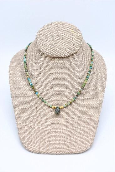 Meridian Multi stone nechlace tq,