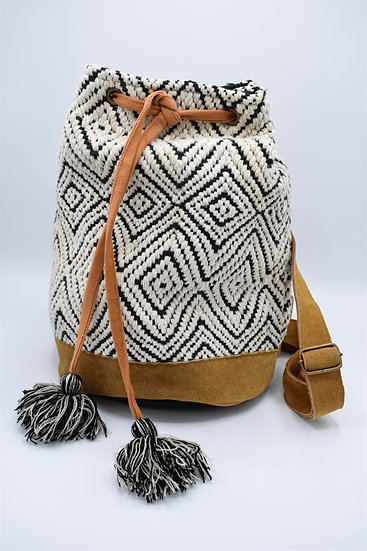 San Diego Hat co, woven backpack