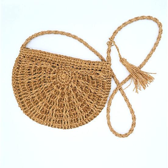 San Diego Hat Co, straw woven crossbody
