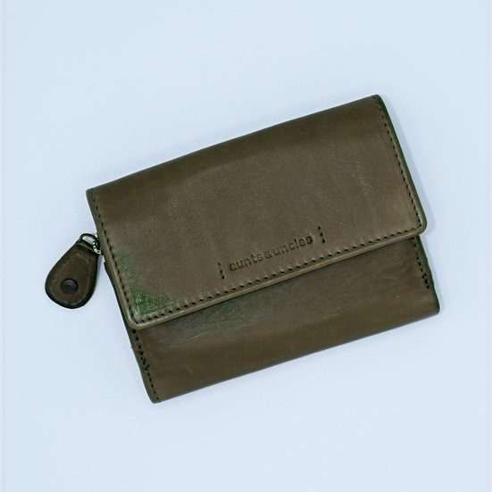 Small Olive Wallet