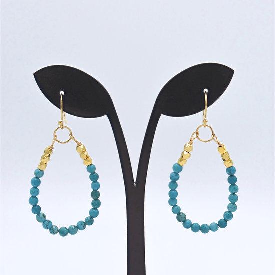 Meridian tq. Teardrop earrings