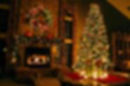 Elegant-living-room-christmas-decoration