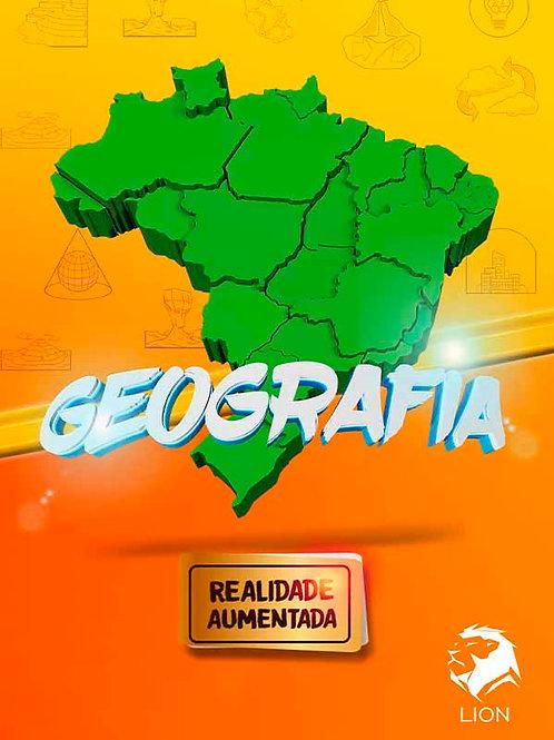 E-book de Geografia em realidade aumentada