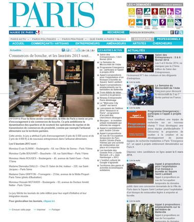 Prix Mairie de Paris