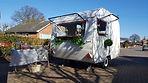 Crabb & Fox MobileBar Hire, Norwich. Vintage caravan mobile bar.