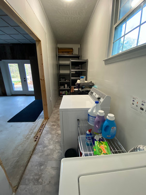 Laundry and Storage