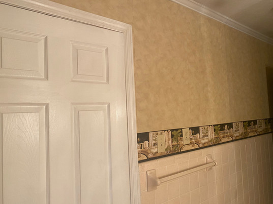 Hall Bath, Proposed Wall Closure