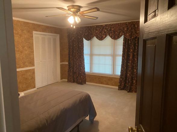 Resident Bedroom #1 - Before
