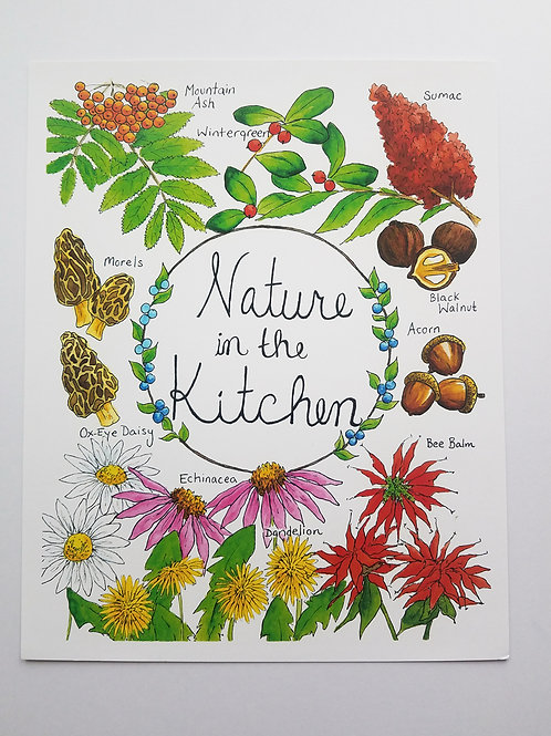 Nature In The Kitchen PRINT
