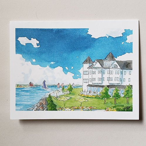 Iroquois Hotel Greeting Card