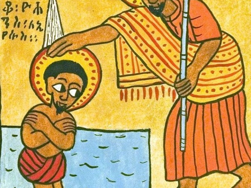 """""""Baptism of the Beloved"""" by Leah Reed"""