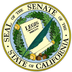 State of California Senate logo