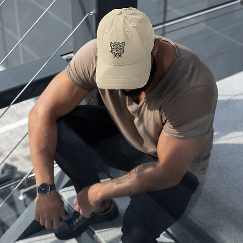 Distressed Panther Hat