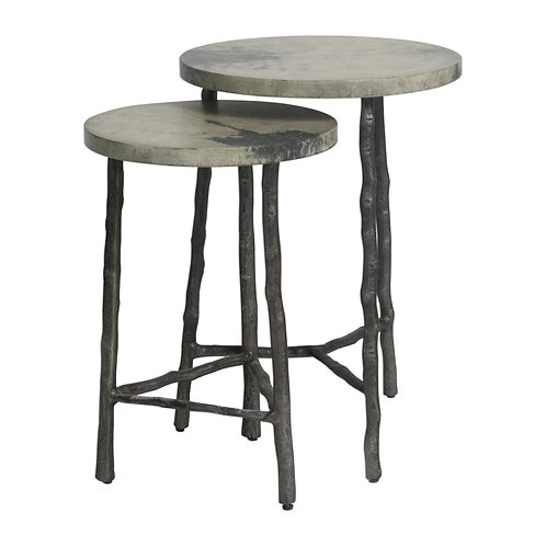 Uttermost Evie Set of 2 Accent Tables