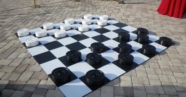 Giant Checkers Set