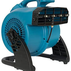 Misting and Cooling Utility Fan