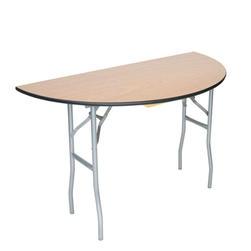 48 inch Half Round Table