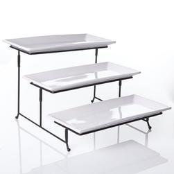 Fold Party Tray 3 Tier
