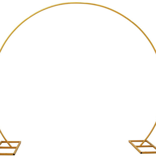 8.5 ft Gold Arch