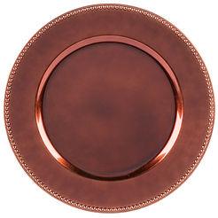 Round Cooper Melamine Charger Plate.jpg