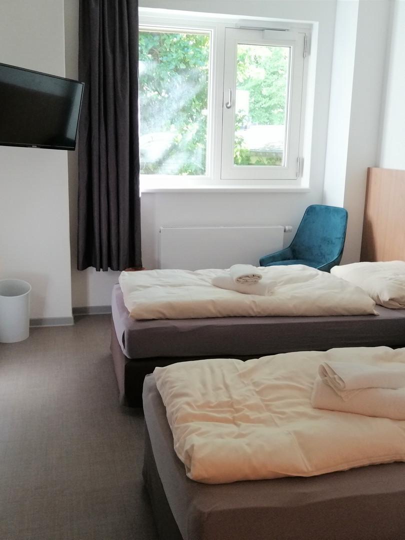 Unsere Zweibettzimmer
