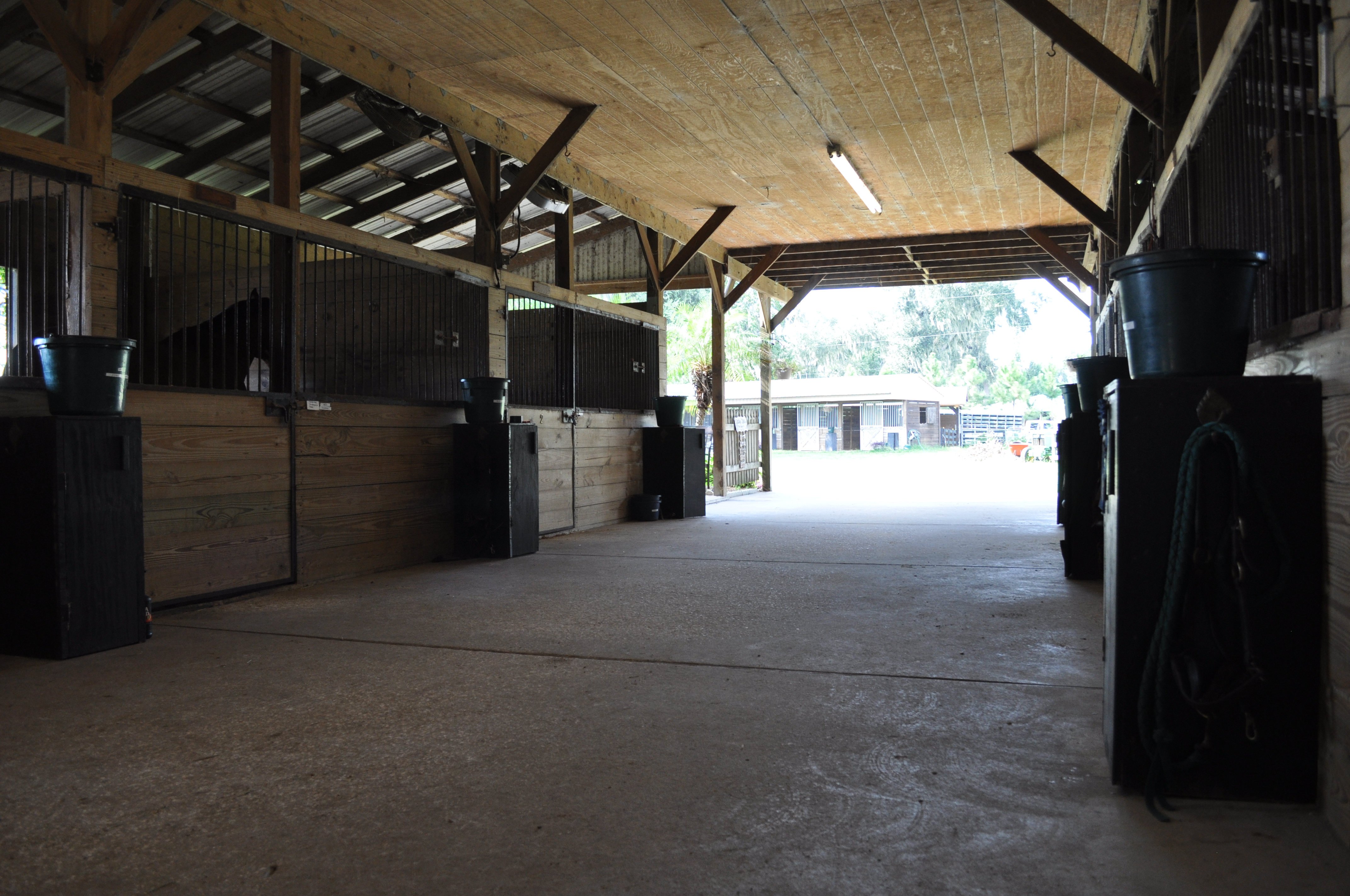 Main Barn Aisle