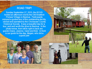Road Trip: Chickasaw Co. Historical Society