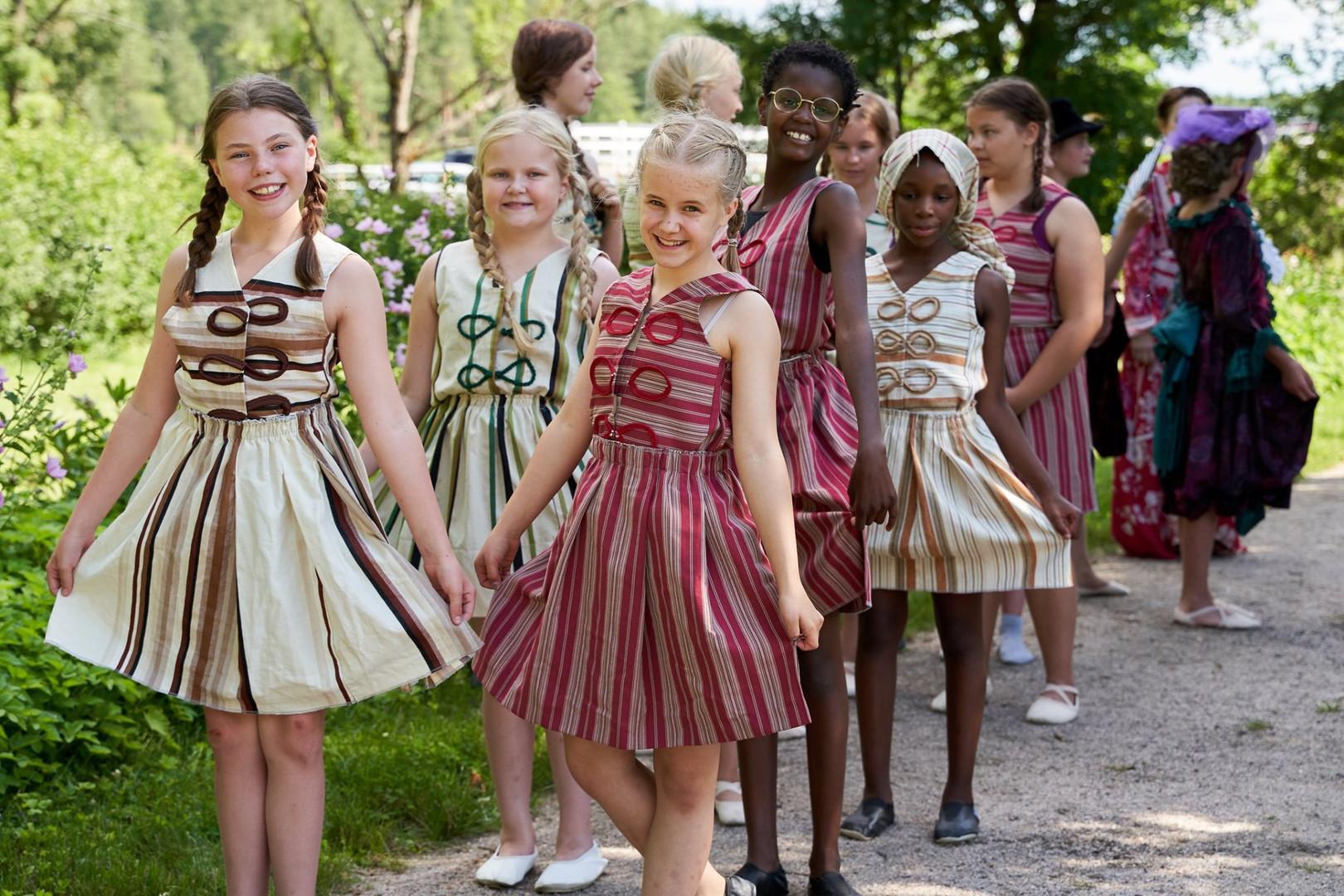 Qvidjan Linnan juhlat, Musiikkiopisto arkipelagin nuoret tanssijat