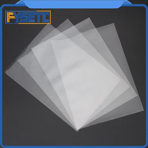 4 Sheets FEP Film 140x200x0.1mm DLP LCD SLA Resin Printer