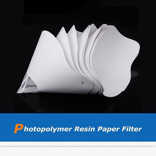 10pcs DLP/SLA Photopolymer Resin Paper Filter Funnel Disposable
