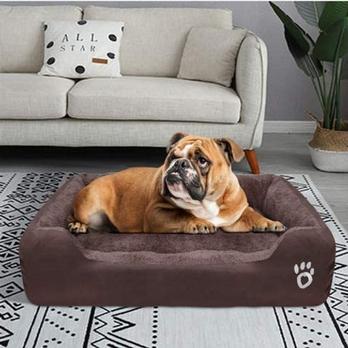 L-3XL Warm Cozy Large Dog Bed for Mastiffs'