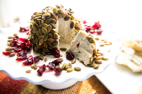 Pumpkin Seed Cranberry Cheese Ball