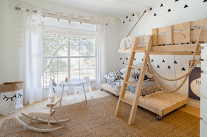 Window/Ventilation: 10 Kids Room Decor Ideas
