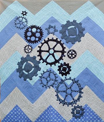 my cog quilt