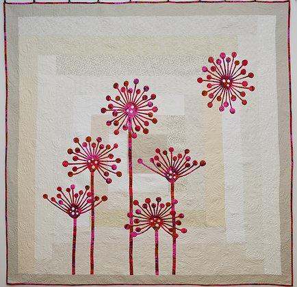 my dandelion wish quilt