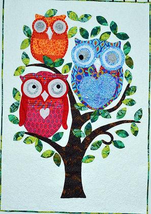 my owl quilt