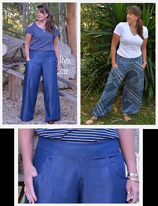 my wide leg pants - PDF pattern