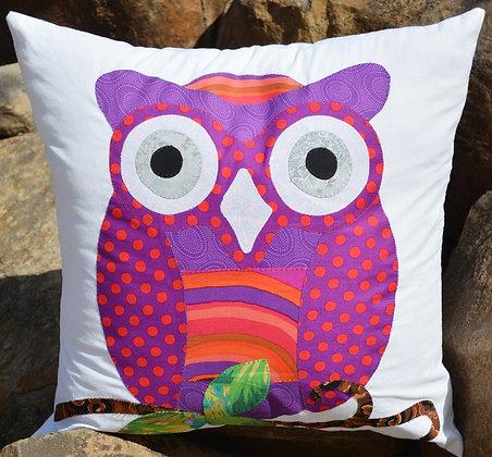 my owl cushion