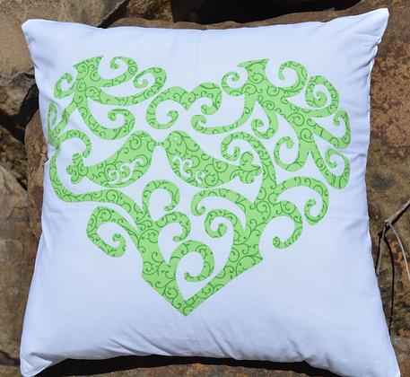 my love bird cushion