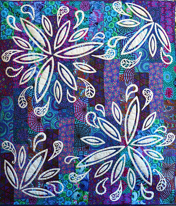 my paisley flower quilt