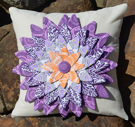 my flower petal cushion