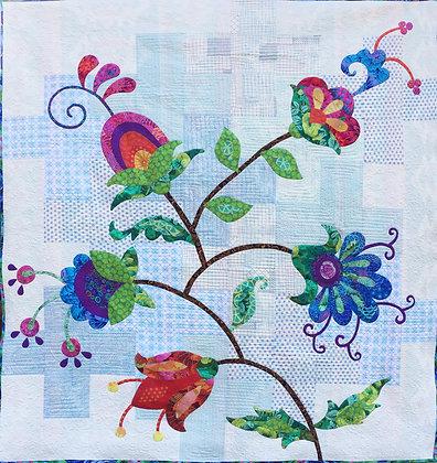 my flower vine quilt
