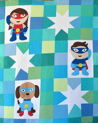 my superhero quilt