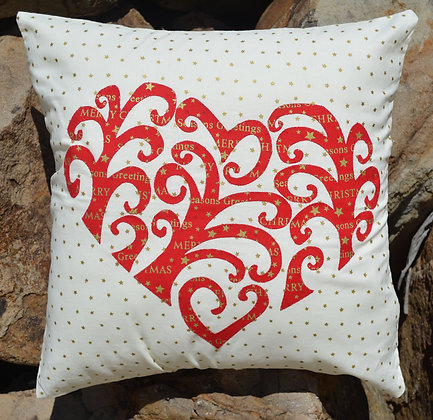 my love heart cushion