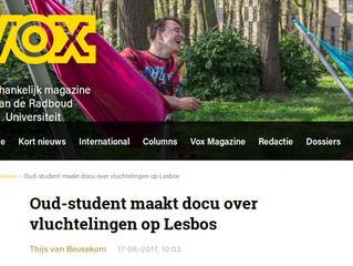 Article in university magazine VOX
