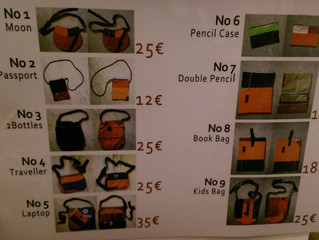 You want a bag made of lifejackets? It's a beauty!