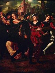 Ambrosius_Benson_-_Elegant_couples_danci